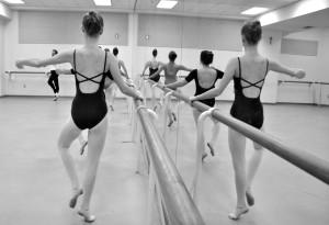 Ballet Class Mirror